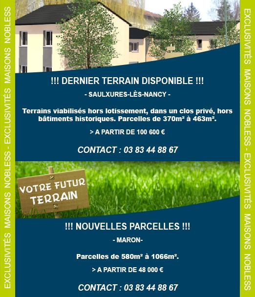 MAISONS NOBLESS, Constructeur de maisons en Lorraine 54, 57, 88