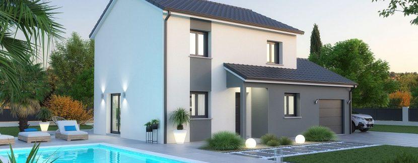 maison + terrain en Moselle