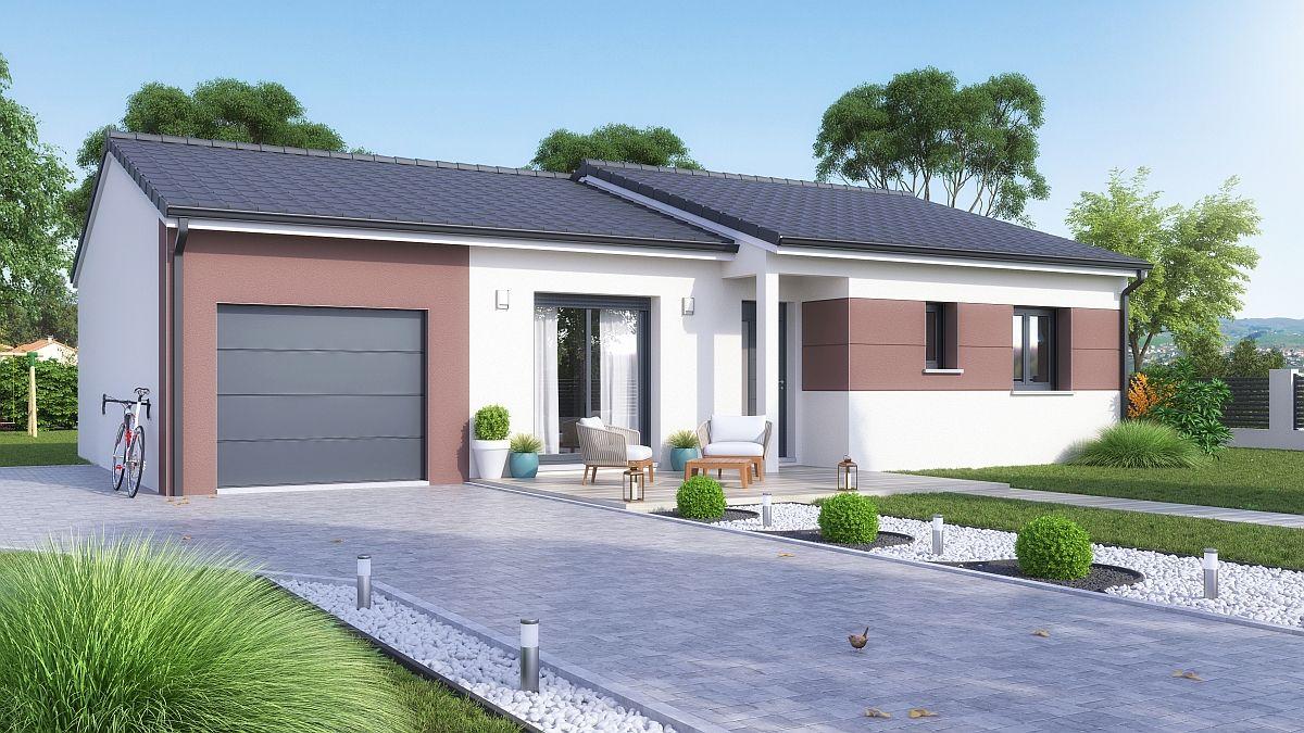 Maison + terrain en Meurthe et Moselle - Xirocourt
