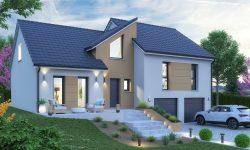 Maison + terrain en Moselle - Dalstein