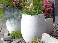 espace floral en décoration de jardin