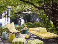espace détente en décoration de jardin