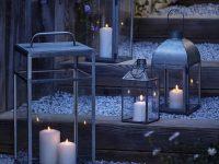 éclairage en décoration de jardin