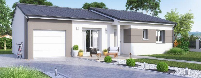 Maison et terrain à Bionville à construire
