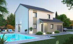 Maison et terrain à Lesménils à construire