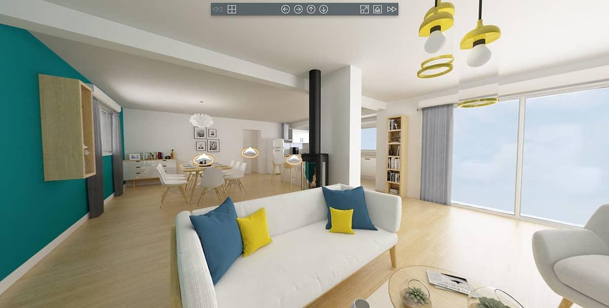 Maison virtuelle 3D