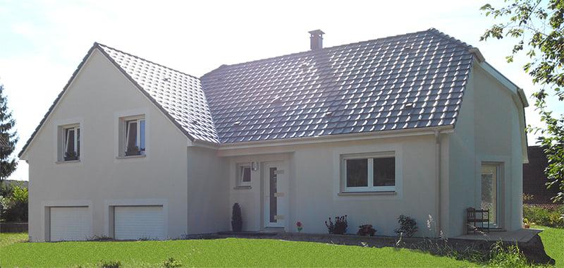 Construction maison à Schopperten