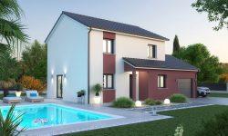 Maison et terrain à Amanvillers à construire