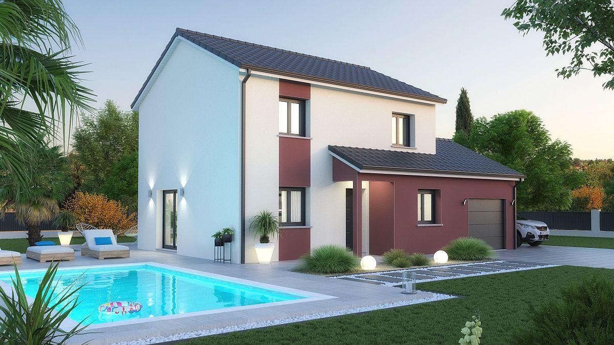 Maison et terrain à Arrancy sur Crusne à construire