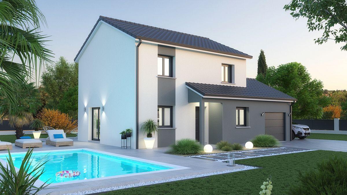 Maison et terrain à Cocheren à construire