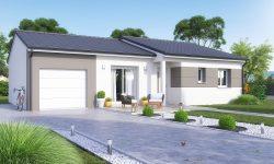 Maison et terrain à Abbeville-les-conflans à construire
