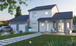 Maison et terrain à Lemud à construire