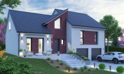 Maison et terrain à Menskirch à construire
