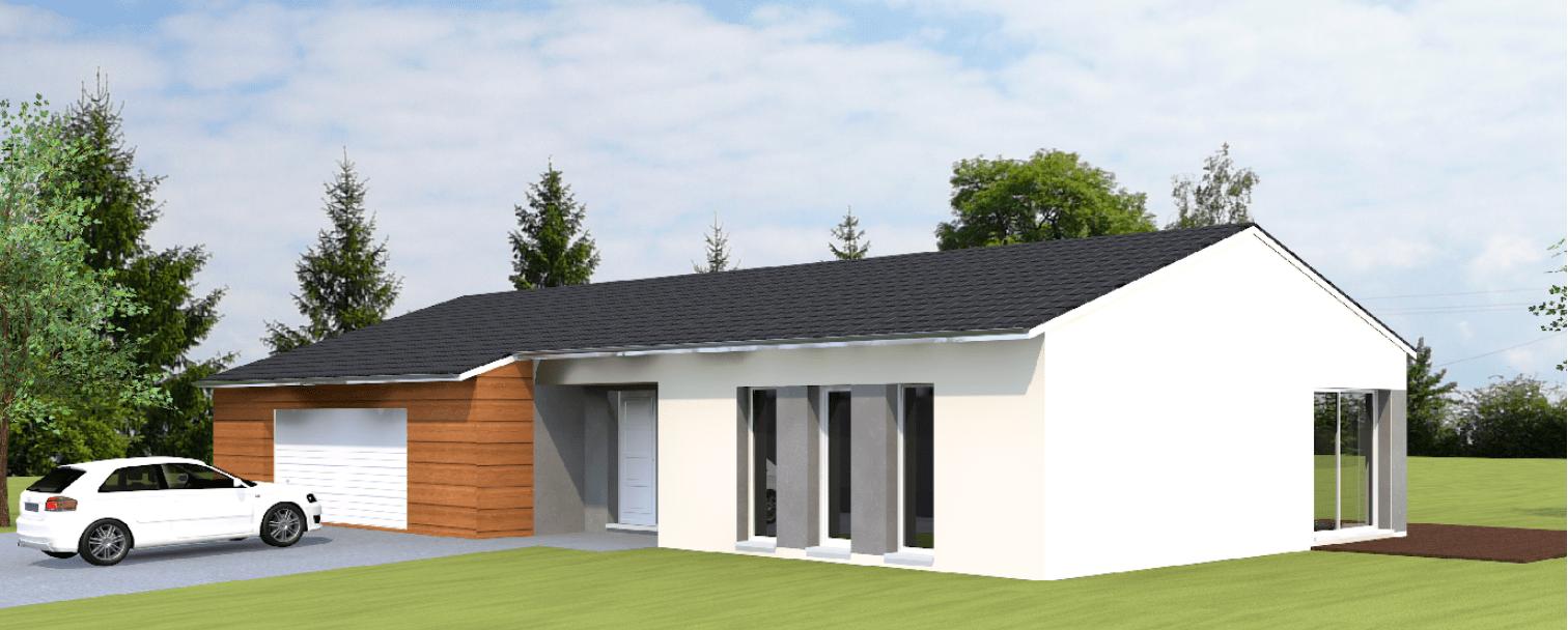 Construction maison à Valmont en Moselle