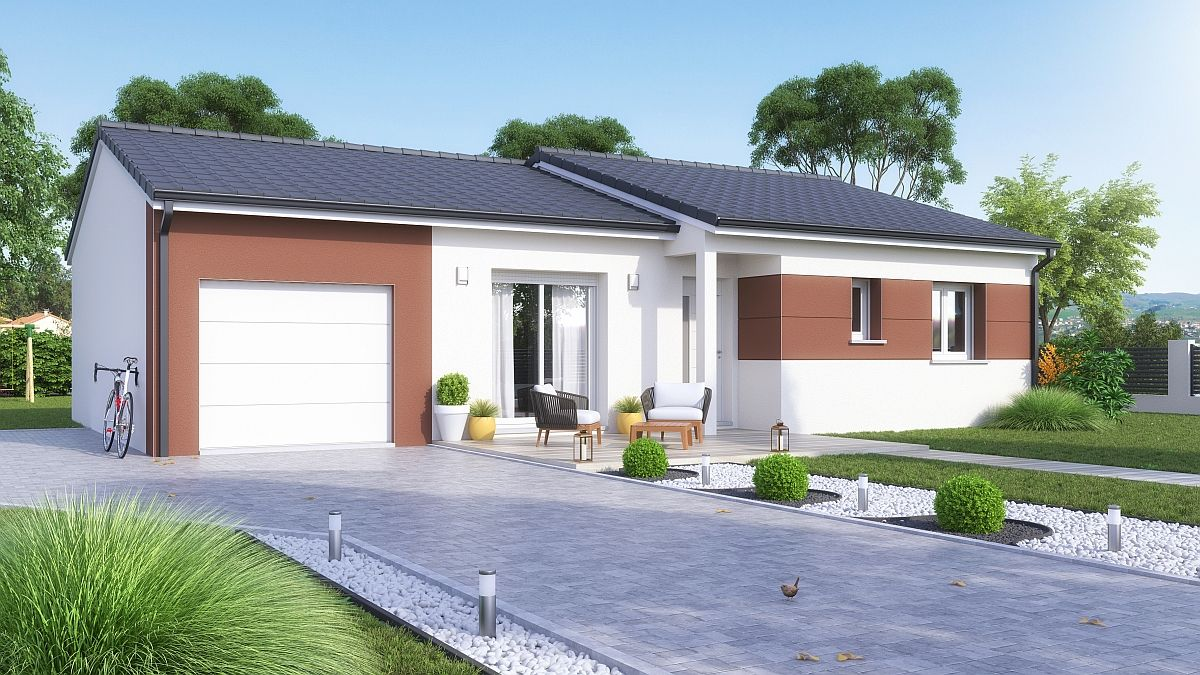 Maison et terrain à Eblange à construire