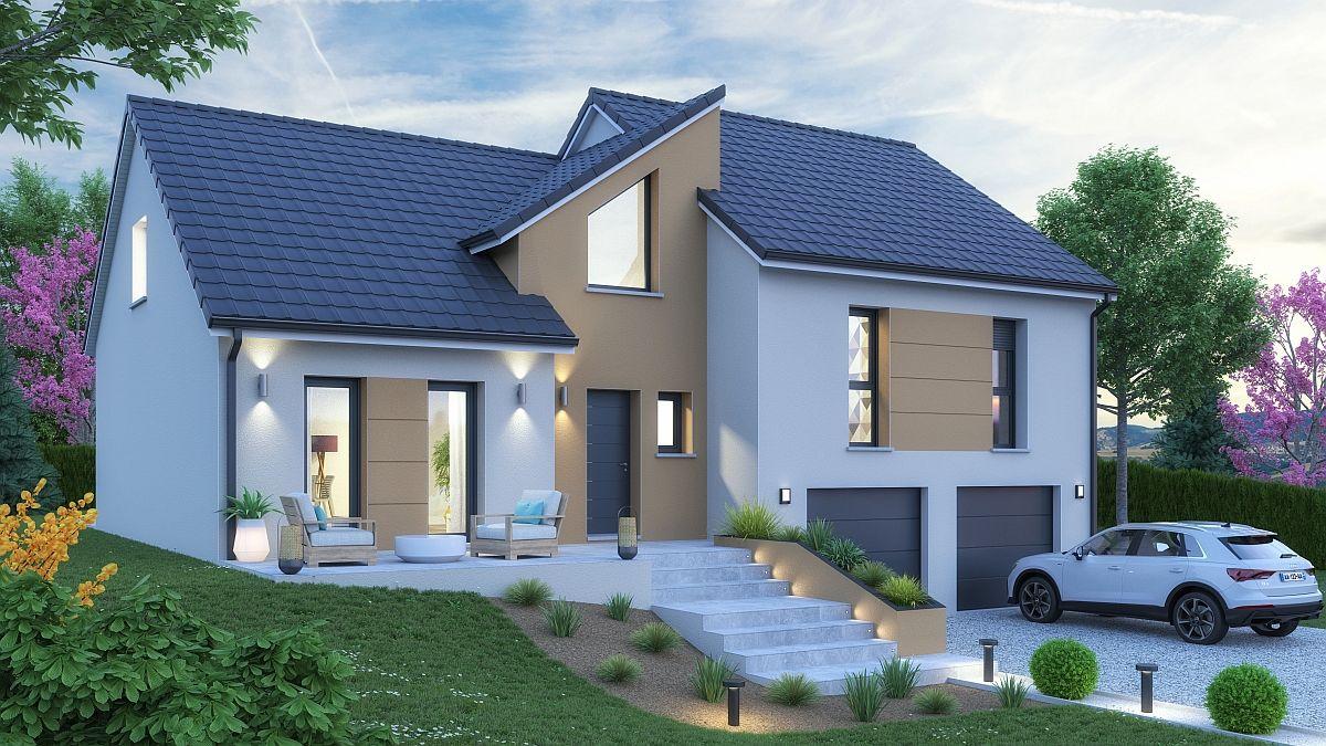 Maison à construire et terrain à Pont à Mousson