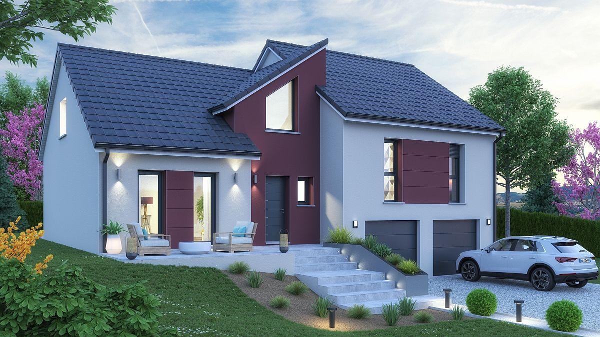 Maison et terrain à Sorbey à construire